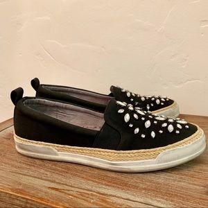 Adrienne Vittadini Tillie Embellished Sneakers